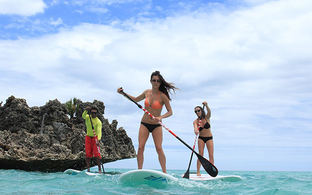 STAND UP PADDLE AT M. CHOISY